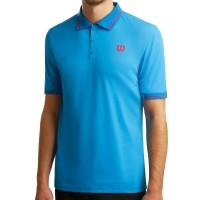 Мъжка тениска за тенис с яка Wilson Men's Star Tipped Polo