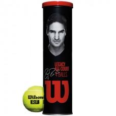 Тенис топки Wilson RF Legacy Tennis 4-Ball Can