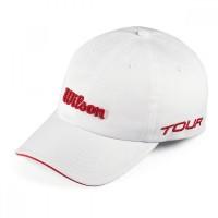 Шапка Wilson Tour cap white