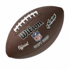 Топка за американски футбол Wilson NFL Extreme Soft grip official size