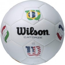 Футболна топка Wilson Catorze Multicolor soccerball