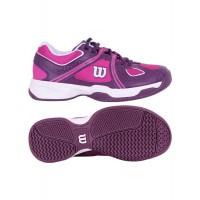 Дамски маратонки за тенис Wilson  NVISION ENVY W FIESTA PIN/DEEP PLUM/W