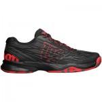 Мъжки маратонки за тенис Wilson Kaos All court black/wilson red