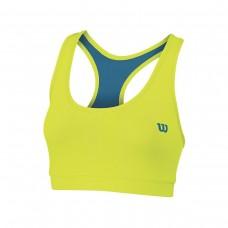 Дамско спортно бюстие Wilson Woman Rush Reversible Bra Solar Lime