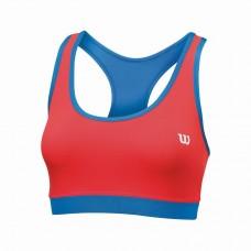 Дамско спортно бюстие Wilson Woman Rush Reversible Bra Neon red