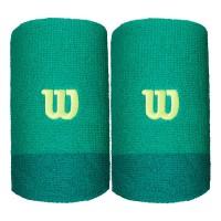 Накитници Extra Wide Wristband Wilson deep green/lagoon green/