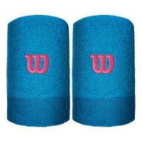 Накитници Extra Wide Wristband Wilson brilliant blue/imperial blue/granita