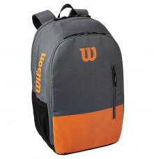 Раница за тенис Раница Wilson Burn Team Backpack or/grey
