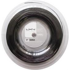 Кордаж за тенис Luxilon Savage Black 1.27mm