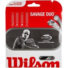 Кордаж за тенис Wilson Savage DUO хибрид