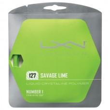 Кордаж за тенис Luxilon Savage Lime 1.27mm