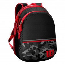 Детска раница Wilson Backpack Black Red
