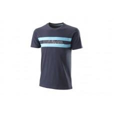 Мъжка памучни тениска Wilson Men CHI Script cotton tee - slimfit