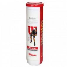 Тенис топки Wilson Tour Clay Red 4