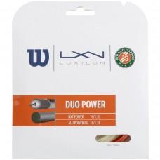 Кордаж за тенис Luxilon DUO Power Хибрид