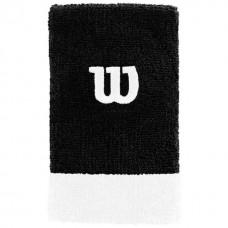 Накитници Extra Wide Wristband Wilson bk/wh/wh