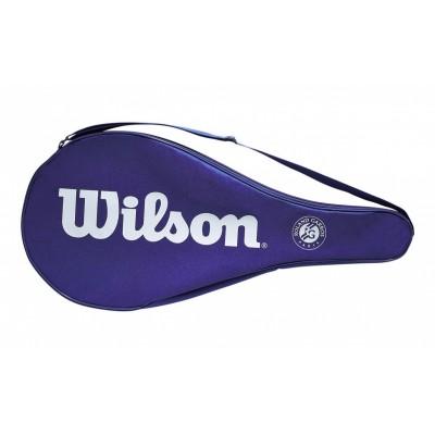 Калъф за тенис ракета Wilson Roland Garros Full Cover - blue