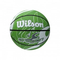 Баскетболна топка Wilson Dragon green