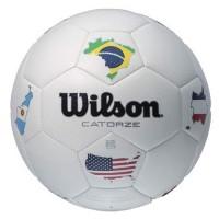 Футболна топка Wilson Catorze Multicountry soccerball