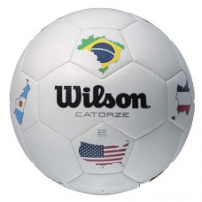 Футболна топка Wilson Catorze Multicountry soccerball