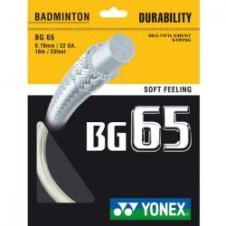 Кордаж за бадминтон Yonex BG 65