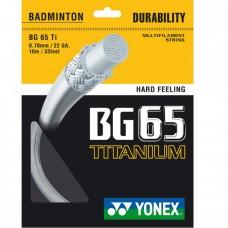 Кордаж за бадминтон Yonex BG 65TI