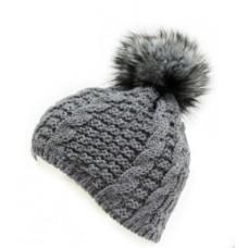 Дамска зимна шапка Troll grey