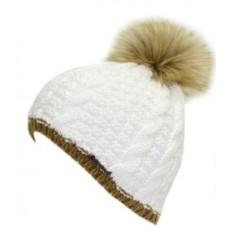 Дамска зимна шапка Troll white